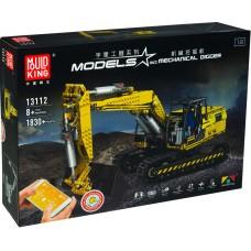 Аналог MOC 2514, Mould King 13112 Моторизированный Экскаватор «Link-Belt 250 x3» RC APP